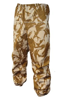 British Army Desert Waterproof MVP Trousers