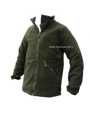 Thermal Olive Green Fleece with Collar